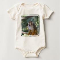 Amazing Squirrel Monkey Baby Bodysuit