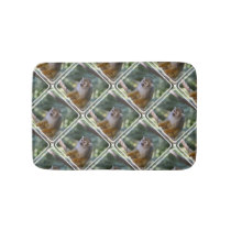 Amazing Squirrel Monkey Bathroom Mat