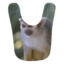 Amazing Squirrel Monkey Bib