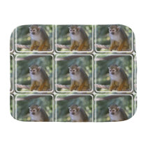 Amazing Squirrel Monkey Burp Cloth