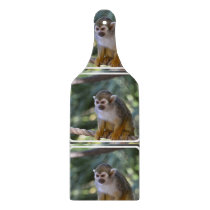 Amazing Squirrel Monkey Cutting Board