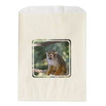 Amazing Squirrel Monkey Favor Bag