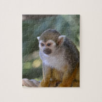 Amazing Squirrel Monkey Jigsaw Puzzle
