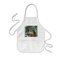Amazing Squirrel Monkey Kids' Apron