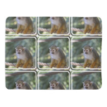 Amazing Squirrel Monkey Stroller Blanket