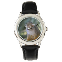 Amazing Squirrel Monkey Wristwatch