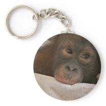 Baby Chimp Keychain
