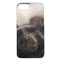 Cute Cotton Topped Tamarin iPhone 7 Case
