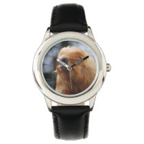 Golden Lion Tamarin Monkey Wrist Watch