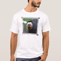 Pale Faced Saki Monkey T-Shirt