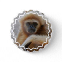 Sad Gibbon Pin