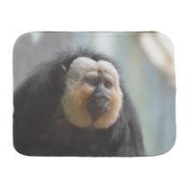 Saki Monkey Baby Burp Cloth