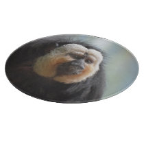 Saki Monkey Cutting Board