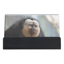 Saki Monkey Desk Business Card Holder