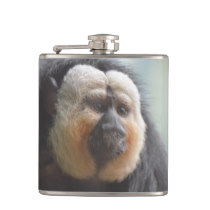 Saki Monkey Hip Flask