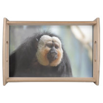 Saki Monkey Serving Tray