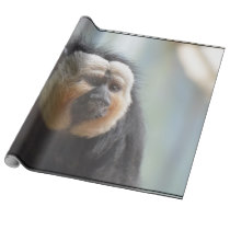Saki Monkey Wrapping Paper