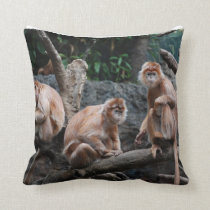 See No Evil, Hear No Evil, Do No Evil Throw Pillow