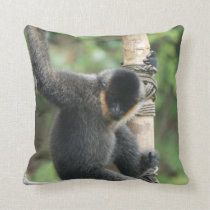 White Cheeked Capuchin Pillow